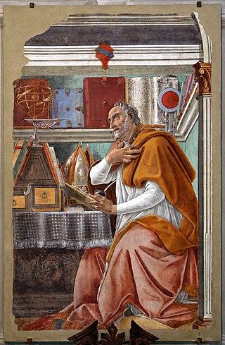 320px-Sandro_botticelli,_sant'agostino_nello_studio,_1480_circa,_dall'ex-coro_dei_frati_umiliati,_01