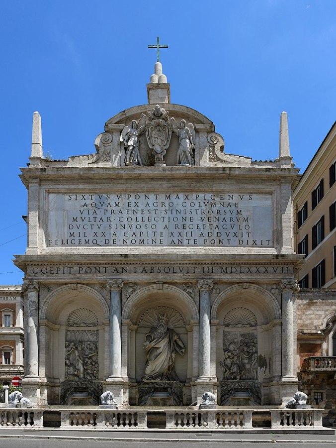 800px-Fontana_dell'Acqua_Felice_(Rome)